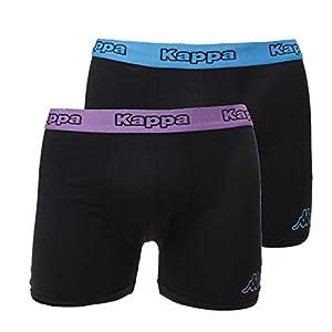 Kappa – Calzoncillos Tipo bóxer para Hombre (6 Unidades, algodón)