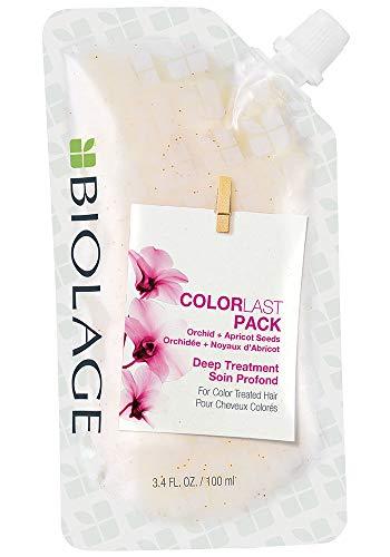Matrix Biolage Colorlast Pack Deep treatment 100ml - Masque cheveux Traités