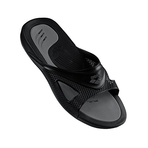 ARENA Hydrofit Man Box, Pantoffeln Pool Unisex Erwachsene, Unisex - Erwachsene, 80707_50_42, Black/Black/Anthracite, 42