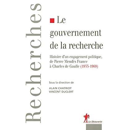 Le gouvernement de la recherche