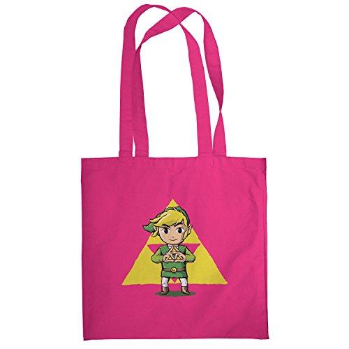 Texlab–Finger Triforce–sacchetto di stoffa Pink