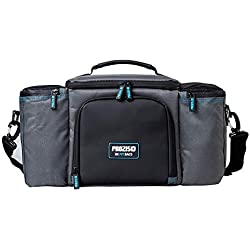 Prozis Befit Bag 2.0 Bolsa Organizadora de Alimentos con Compartimento de Almacenamiento Aislado, 3 Recipientes y 2 Sacos de Hielo, Tela, Gris, 22.5 x 41 x 23 cm