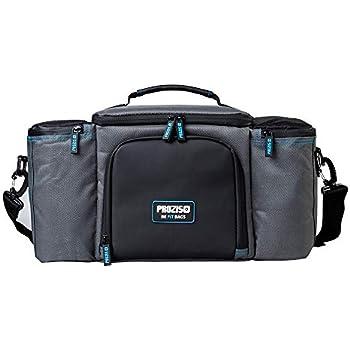fe639beb733d2 PROZIS BeFit Qualitativ Mahlzeitentasche in Grau - Isolierte Kühltasche mit  3 Mahlzeitenbehältern und 2 Kälte-Gel-Beuteln für Arbeit