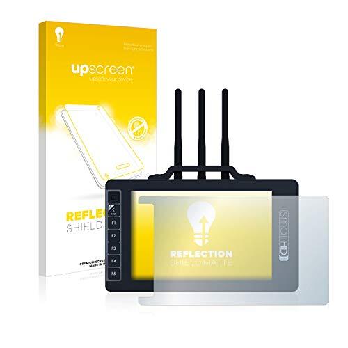 upscreen Reflection Shield Matte Displayschutz Schutzfolie für SmallHD 703 Bolt Wireless Monitor (matt - entspiegelt, hoher Kratzschutz)
