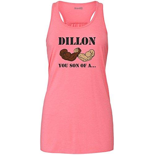 Brand88 - Dillon, You Son Of A Damen Flowy Racer Tank Top Rosa