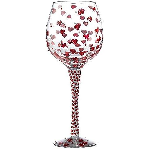Lolita Superbling Copa de vino, rojo pasión