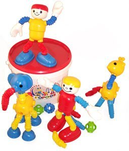 Popoids Super Set 140 Pieces People & Animals Tub