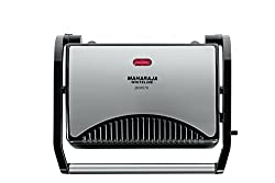 Maharaja Whiteline SM-102 700-Watt 2-Slice Panini Maker (Black)