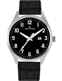 Alpha Saphir Herren-Armbanduhr 376C