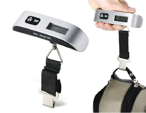 RainSound Travel Luggage Weight Measuring Scale , Silver , Upto 50Kg