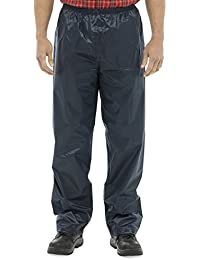 Mens Waterproof Over-Trousers Lightweight Plain Printed