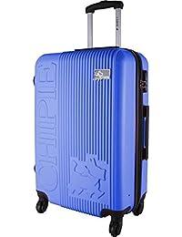 CHIPIE Valise Cabine Rigide ABS 4 Roues 55cm Bleu