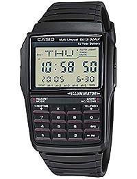 Casio - DBC-32-1AES - Montre sport Homme - Quartz Digitale - Calculatrice - Répertoire - Chrono - 5 Alarmes - Fuseaux Horaires - Convertisseur - Bracelet et boitier en résine noire