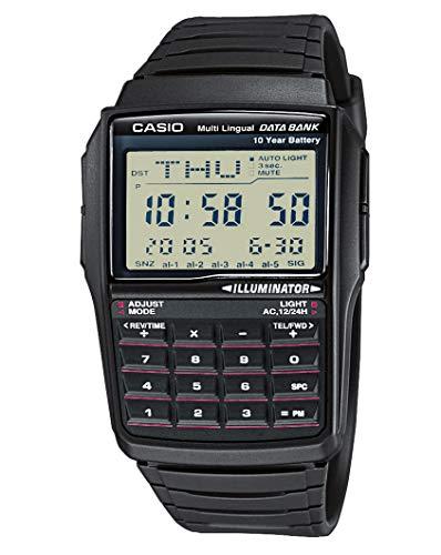 Casio Collection Unisex-Armbanduhr DBC321AES - Teilen Taschenrechner