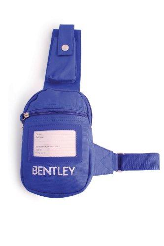 Charles Bentley Pferdepflege Beleg Nicht Schultertasche mit verstellbarem Gurt - Mobile Phones Keys Karten in Blau