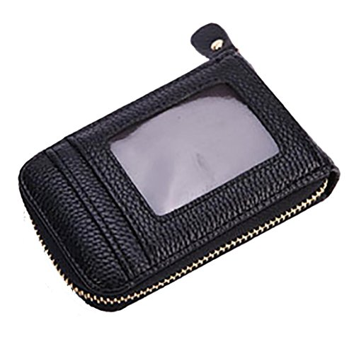 ESAILQ Hommes Femmes cuir Carte de crédit Porte-cartes Porte-monnaie Case Carte de visite