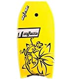 Tabla de Surf y Sun-Bodyboard, color: amarillo/negro, talla 37