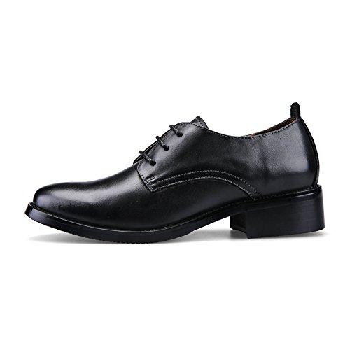 Petites chaussures noires au printemps et en automne/Comfort casual chaussures plates/ main-chaussures A