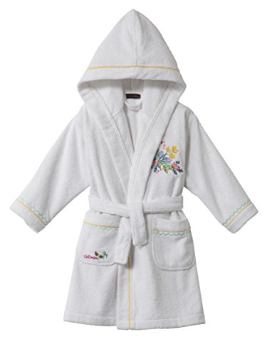 Preisvergleich Produktbild Catimini E700-0400-3790501-ka Ile Aux Fleurs, Bademäntel für Mädchen weiß
