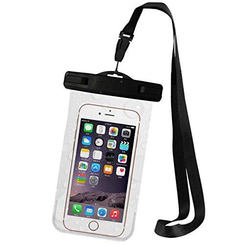 Universal-Schutztasche (IPX8zertifiziert bis zu 30 m) mit Armband-Riemen für Apple iPhone 6,6S, 6S Plus, SE, 5S, Samsung Galaxy S7/S7Edge und andere Smartphones (Samsung 5s Fällen)
