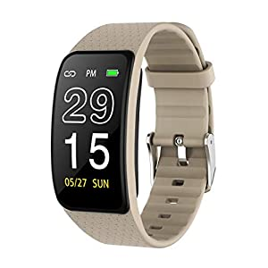 1,14 Zoll Single Touch Armband Wear Smart Watch 64M 135×240 P67 wasserdicht IPS voller Betrachtungswinkel Sport Fitness Kalorien
