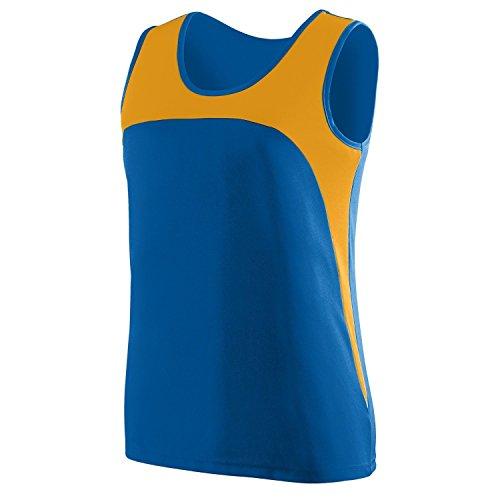 Augusta - T-shirt de sport - Femme Multicolore - Royal/Gold