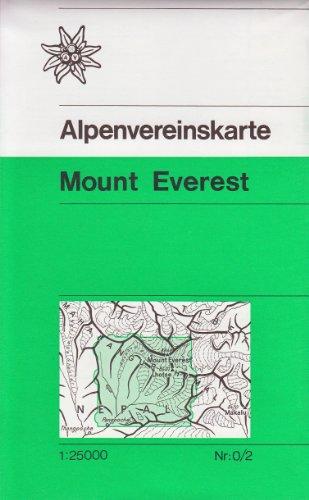 mount-everest-1-25k-trekking-carte-alpenvereinskarte