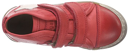 Bisgaard velcro Unisex-Kinder Kurzschaft Stiefel Rot (10 Red)