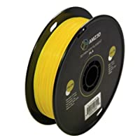 1.75mm Yellow PLA 3D Printer Filament - 1kg Spool (2.2 lbs) - Dimensional Accuracy +/- 0.03mm