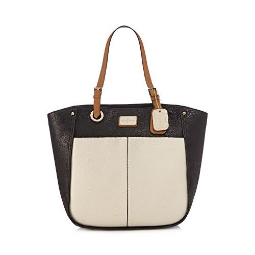 j-by-jasper-conran-womens-black-enamel-plate-shoulder-bag