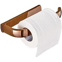 Aothpher todos Cobre de papel higiénico, montado en la pared 200 * 90 * 27 mm, cobre, oro rosa, 200*90*27mm