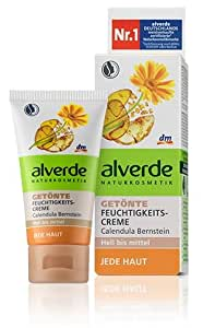 Alverde - Crème hydratante teintée - Calendula Bio - 50ml