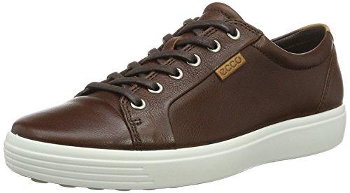 ecco-soft-7-sneakers-basses-homme-marron-1283whisky-42-eu