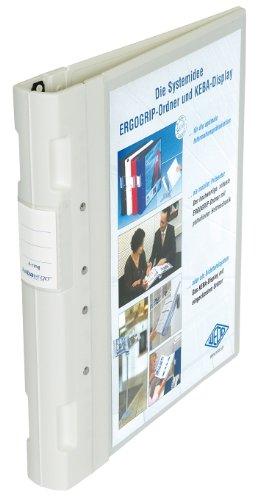 Wedo 5815000 Ordner Ergogrip (A4 4 Ringe 40mm weiss, Kunststoff)