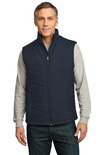Port Authority® Puffy Vest. J709 Dark Slate/Black 4XL