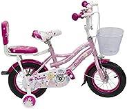 Bronco Princess Girls Bike 12 Inch (Party Pink) 100% Assembled