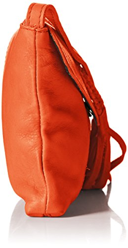 Pieces Axelle, Borsa a Tracolla Rosso (Rouge (Grenadine))