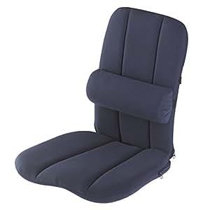 soutien dorsal ergonomique de dos avec coussin lombaire soutien lombaire portable pour chaise. Black Bedroom Furniture Sets. Home Design Ideas