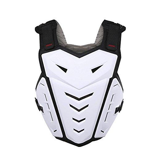 ZzheHou Motorrad-Schutzjacke Sportjacke Racing Körperschutz Rüstung Schutz Fahrrad Motocross Ski Furnier Motorrad-Schutzkleidung (Color : White)
