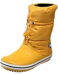 Crocs Crocband - Botas de invierno de media caña para mujer