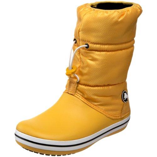 Crocs Winter Stiefel (CROCS Schuhe - Stiefel CROCBAND WINTER BOOT - canary, Größe:41-42)