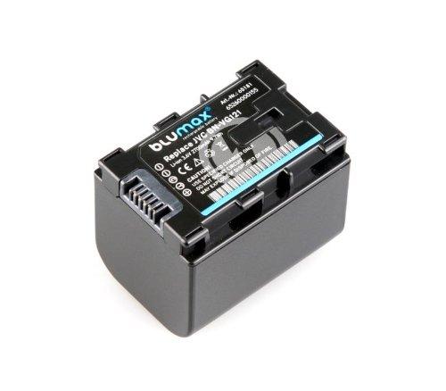 Li-Ion Akku BN-VG121 mit Info-Chip für JVC Everio Camcorder - 100% kompatibel, langlebig, zuverlässig, geringe Selbstentladung, Schutz vor Kurzschluss, Überspannung und Überhitzung, ohne Memoryeffekt