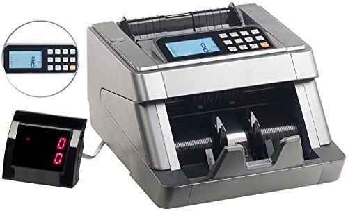 General Office Geldzähler: Profi-Banknoten-Zählmaschine mit Summier-Funktion & Echtheits-Prüfung (Geld-Zählmaschine)