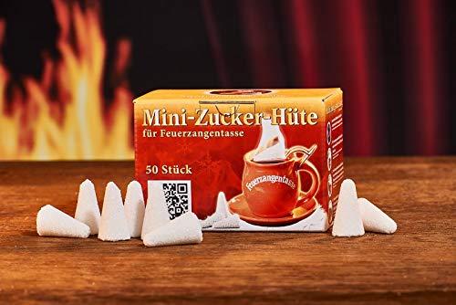 Feuerzangentasse Mini-Zucker-Hüte (50 Stück)
