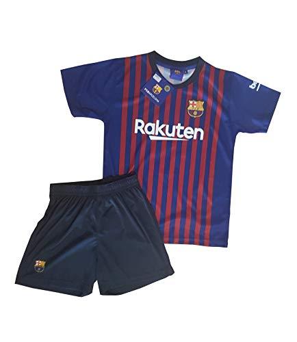 Conjunto Camiseta y Pantalon 1ª Equipación 2018-2019 FC. Barcelona - Réplica  Oficial Licenciado dcc2048d8d804