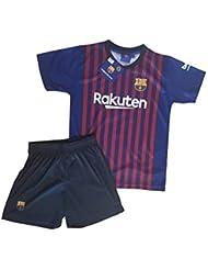 d00ae2d803395 Conjunto Camiseta y Pantalon 1ª Equipación 2018-2019 FC. Barcelona - Réplica  Oficial Licenciado