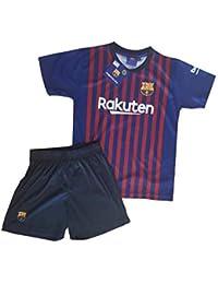 Conjunto Camiseta y Pantalon 1ª Equipación 2018-2019 FC. Barcelona -  Réplica Oficial Licenciado b2df1760ff2