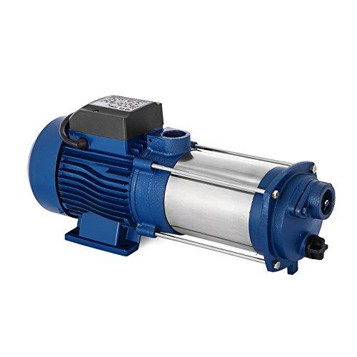 Anhon 1100-2200W Zentrifugal Booster Wasserpumpe mit Oder Ohne Schalter Hauswasserwerk 5100 L/h 1300 W Garten Jetpumpe Wasserpumpe Kreiselpumpe (MC-1100)