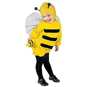 WIDMANN - Disfraz de abeja para niños, multicolor, 110 cm/3 - 4 años, 36009