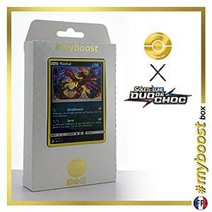 Yveltal 95/181 Holo - #myboost X Soleil & Lune 9 Duo de Choc - Box de 10 Cartas Pokémon Francés